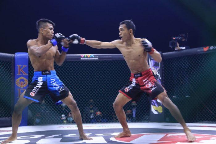MMA Fight Night 38, Ade Permana Pertahankan Sabuk Juara